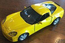"2007 Yellow Chevrolet Corvette ZO6 1/36"" Scale by Kinsmart (JVE:342)"