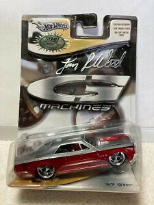 Hot Wheels SEMA '67 Pontiac GTO G Machines Signed Larry Wood 1:50 1/10000