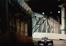 Kazuki Nakajima mano firmado AT&T Williams F1 Foto 7x5 18.