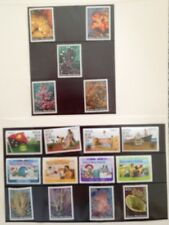 1983 PNG STAMPS Incl Corals (5) Commonwealth Day (4) Communication Year (4)