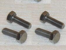 "4x 5/16 BSCy x1"" 26TPI Stainless Hex Setscrews Triumph BSA Cycle Thread Bolts"