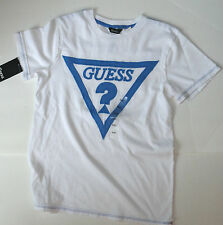 NEW GUESS TSHIRT WHITE SIZE 7-8 YEARS BOYS AUTHENTIC