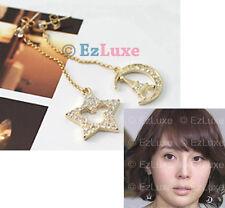 K-POP Korean drama Japan styles TV Star Heart Moon Eiffel Tower Mickey Earrings