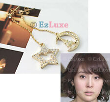 Korean drama Japan styles TV Star Moon Mickey Earrings