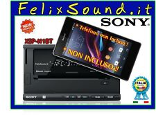 Sony  XSP-N1BT  Autoradio 2 DIN SINTOCD / USB /Bluetooth  3 USCITE PRE OUT 5VOLT