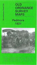 OLD ORDNANCE SURVEY MAP PEDMORE 1921