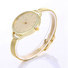 Luxury Women Dresses Gift Watches Quartz Stainless Steel Mesh Belt Wrist Watches