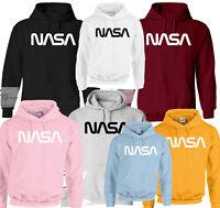NASA INSPIRED SPACE ASTRONAUT PRINT GEEK NERD TRENDY HOODIES 7 COLORS 5 SIZES