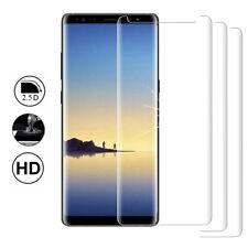 """3x verre blindé Samsung Note 8 6.3 """" Film de protection complet bord COURBURE"""