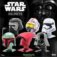 Metal Earth Star Wars Helmets 3D Laser Cut Metal Miniature DIY Model Kits New UK
