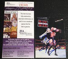 "DWAYNE ""THE ROCK"" JOHNSON 1998 WWF COMIC IMAGES SIGNED AUTOGRAPHED CARD JSA CERT"