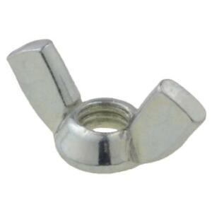 Wing Nut M12 (12mm) Metric Coarse Steel ZP Zinc Plated