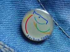 Pin Pins Anstecker Chio 2006 Aachen Reitturnier Springreiten und Dressur Reiten