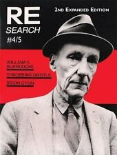 RE/Search 4/5: William S. Burroughs, Throbbing Gristle, Brion Gysin by