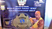 VINTAGE WWF MOLD AND PAINT CHAMPIONSHIP BELT RARE  PARADISE TOYS