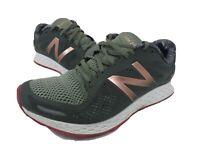 New Balance Fresh Foam Zante V2 Running Shoe Green Gold Pink Womens Size 10 D