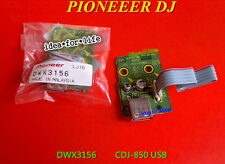 Pioneer Spare Part CDJ850 USB connector with PCB baord ASSY DWX3156 #D3027 LV