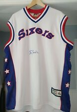 Philadelphia 76ers Larry Brown Signed Jersey