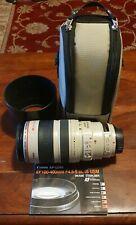 Canon EF 100-400mm f/4.5-5.6 L IS USM lens