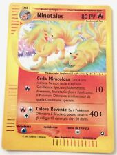 NINETALES H19/H32 SET AQUAPOLIS RARA HOLO CARTA POKEMON ITALIANA GOOD