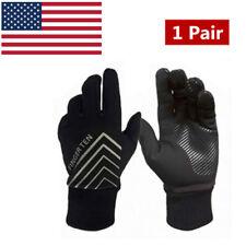 New listing Gloves Winter Women Men Fleece Warm Sports Driving Touch Screen Mittens Xl