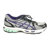 ASICS Gel Exalt 2 Running Shoes Womens Size 8 1/2 8.5 Gray Purple Sneakers