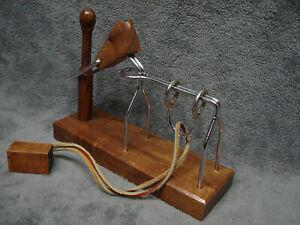 Vtg 1985 Binary Arts Walnut Horse Puzzle Brain Teaser Think Fun Equestrian Toy