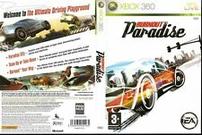 Burnout Paradise Microsoft Xbox 360 PAL GOOD Condition