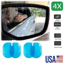 4Pcs Car Rear Mirror Side Window Waterproof Film Glass Films Anti-Fog Rain-Proof