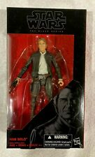 "Hasbro STAR WARS The Black Series 6"" inch Old HAN SOLO Action Figure TFA *new*"