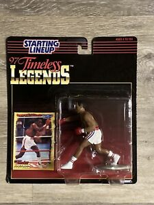 TIMELESS LEGENDS SUGAR RAY LEONARD BOXING FIGURE Starting Lineup KENNER