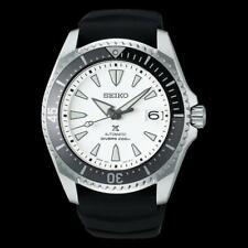 Seiko Prospex White Shogun Men's Titanium Case Rubber Strap Watch SPB191J1