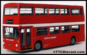 EFE 25813 Daimler Fleetline DMS - Wilts & Dorset - Route 133,Wimbourne LAST FEW