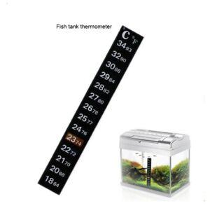 Digital Aquarium Fish Tank Thermometer Temperature Sticker Dual Scale