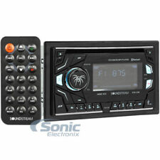 SOUNDSTREAM Double DIN Bluetooth CD/AM/FM Car Stereo w/ SD Playback | VCD-22B