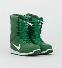 Nike Zoom Kaiju Snowboard Boots White Green  Rare 376276 Sz 9