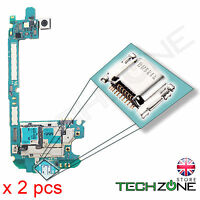 2 x Samsung Galaxy S3 GT-I9300 USB Charging Port Charger Socket Connector Dock