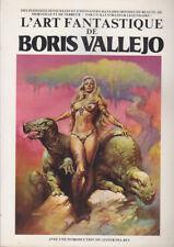 C1 Lester DEL REY - L ART FANTASTIQUE de BORIS VALLEJO 1980 Epuise COULEURS