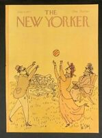 COVER ONLY ~ The New Yorker Magazine, July 4, 1977 ~ William Steig