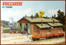 Vollmer 7608 ( 47608 ) N - Lokschuppen 2-ständig NEU & OvP