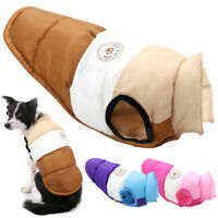 Dog Puffer Coats for Small Medium Dogs Winter French Bulldog Clothes Pet Apparel