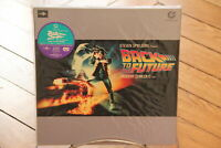 Back to the Future Muse Hi Vision Laserdisc LD NTSC Japan Sticker OBI Fox
