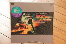 Back to the Future Muse Hi Vision Laserdisc LD NTSC Japan Sticker OBI Fox