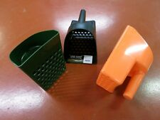 Sand Scoop Durable Plastic Tough Green Black or Orange  Metal Detector Beach