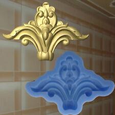 Dekor Stuck Verzierung Silikonform Ornament Relief Deckenverzierung Molds (184)