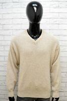 Maglione Uomo Valentino Taglia 54 Lana Cardigan Uomo Pullover Sweater Man Maglia
