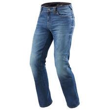 Pantalons bleus Rev'it pour motocyclette