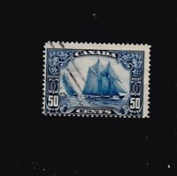CANADA # 158 BLUENOSE USED  FINE LOT 4 VF