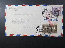 cvr Haiti Heering Denmark Gourdesee Air Mail 46 Transatlantic clipper
