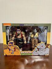 NECA TMNT Teenage Mutant Ninja Turtles Bebop & Rocksteady Target 2 Pack Sealed